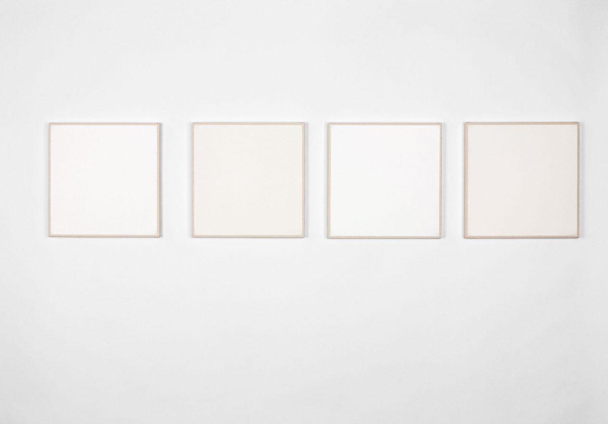 Artist Daniel Levine - monochrome painter 4